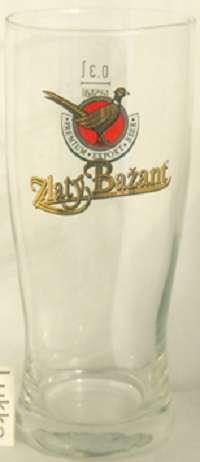 Брендированные бокалы Zlaty Bazant(Златый Базант)