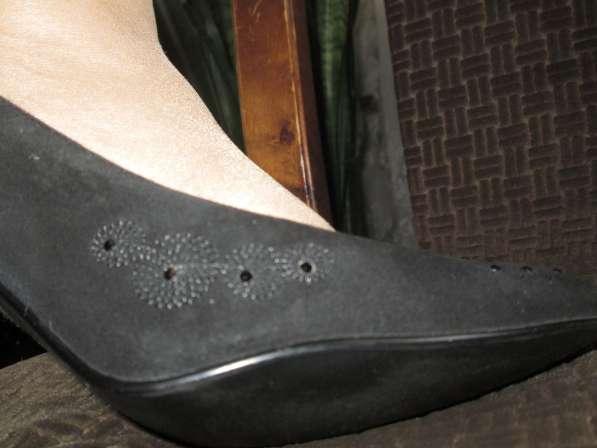 Продаю женские чёрные туфли немецкой фирмы Mascotte, р. 38