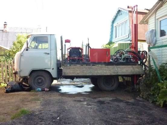 Буровая Установка на УАЗ 3303