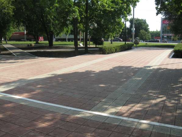 Тротуарная плитка и бордюр