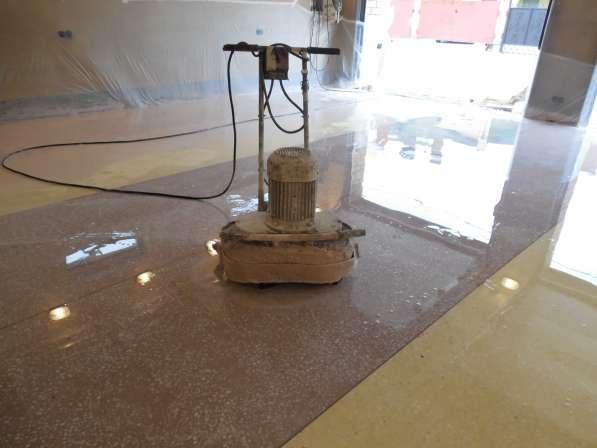 Шлифовка бетонного пола,стяжки
