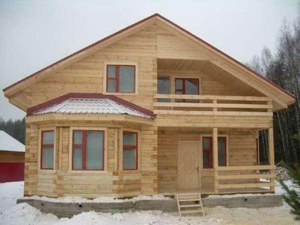 Строим дома, бани, веранды и все надворные постройки.