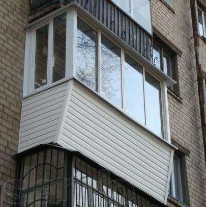 Остекление пвх, алюм, отделка балконов, Окна двери