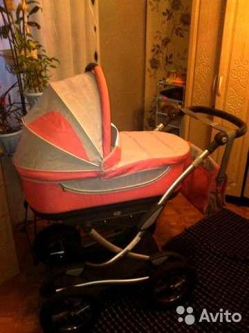 Красивая и функциональная коляска