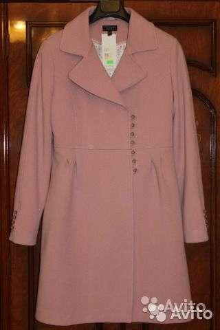 Новое пальто грязно-розового цвета