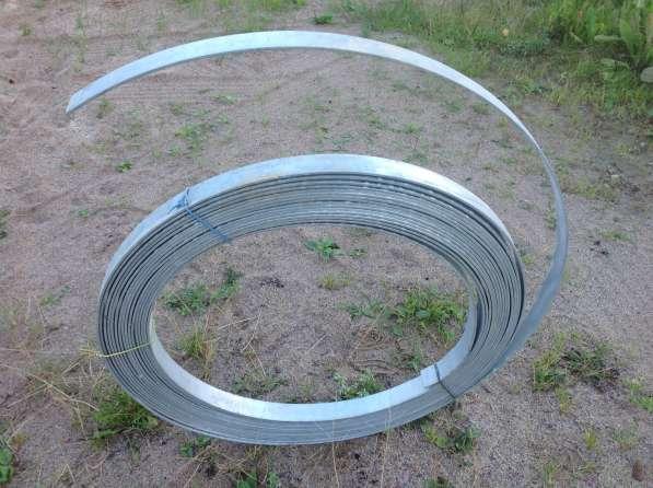 Полоса стальная оцинкованая 40х4 мм для заземления