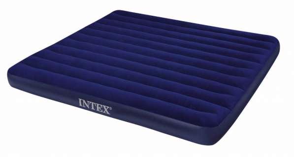 Новый надувной матрас для сна Intex