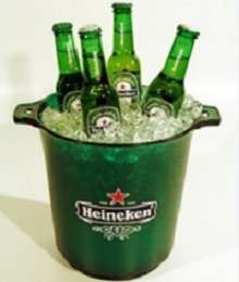 Брендированное ведро для пива Heineken (Хайнекен )
