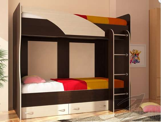 Кровать двухярусная Мийа