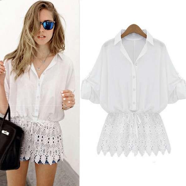 Продаю стильную блузку с гепюром