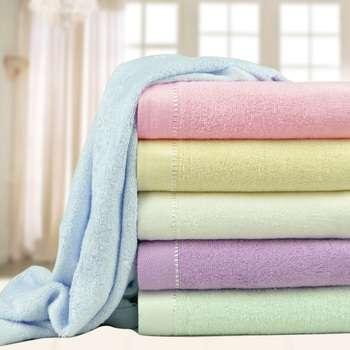 Бамбуковые полотенца для лица и тела