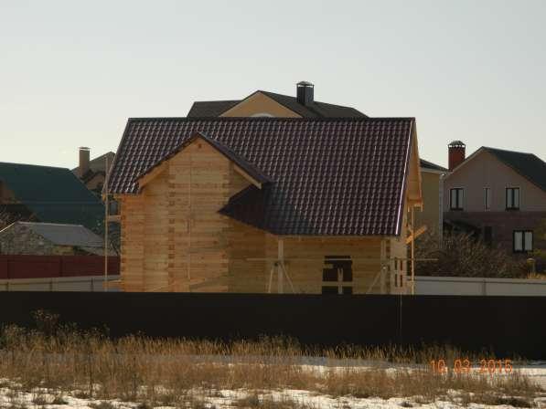 Строительство домов из бруса, профилированного бруса.