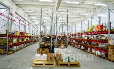 Стеллаж для склада. Производство в Москве