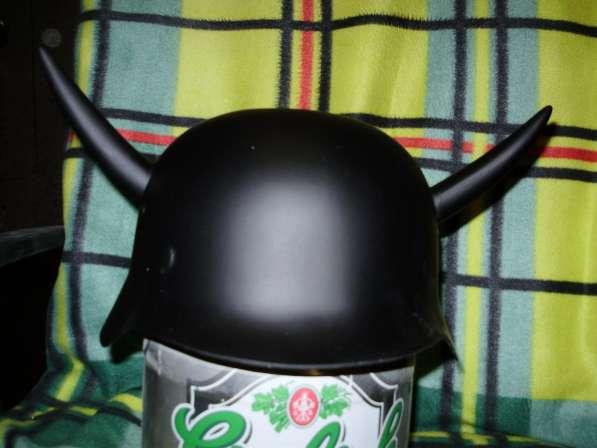 шлем каска с рогами