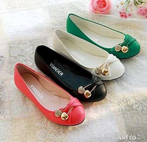 Туфли новые белые