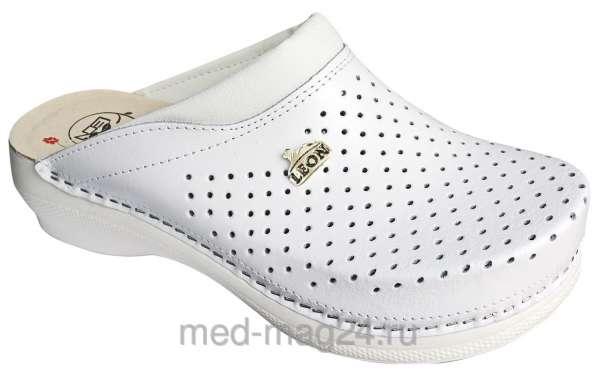 Обувь женская,ортопедическая LEON - PU -100,белые