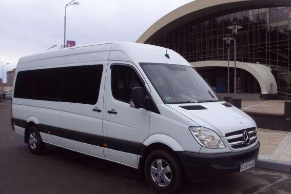 микроавтобус мерседес в томске на заказ