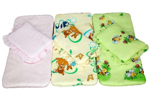 Набор в коляску (подушка и матрасик)