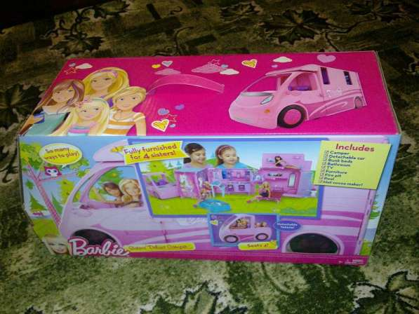 Машина - Барби на отдыхе