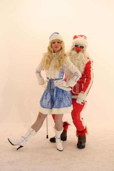 Дед Мороз и Снегурочка от Кабаре Арнольда
