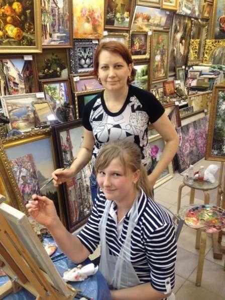 Мастерклассы по живописи, рисунку, мозаике