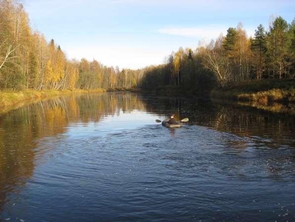 Участок ижс 25 сот на лососевых порогах реки Оять 1 линия