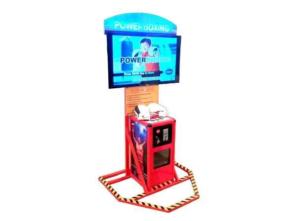 Бокс развлекательный автомат, видеосимулятор, тренажёр