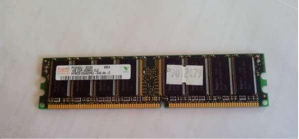 Оперативная память Hynix 1GB DDR 400MHz