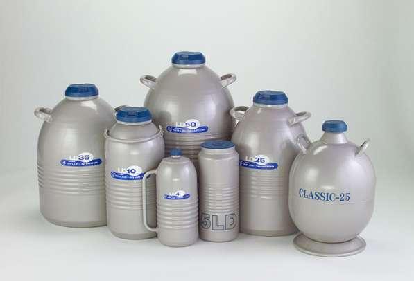 Сосуды Дьюара для жидкого азота