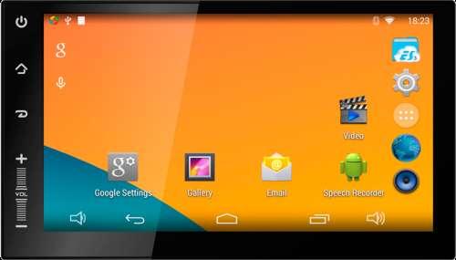 Магнитола 2 Din универсальная Android 4.4 NEWSMY Carpad 2S