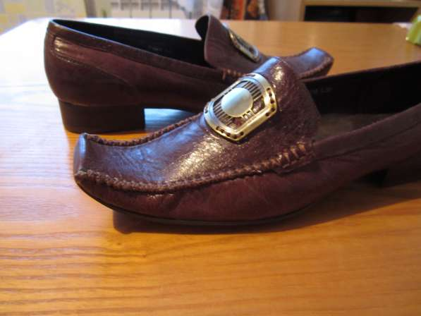 Туфли коричневого цвета в Новосибирске фото 3
