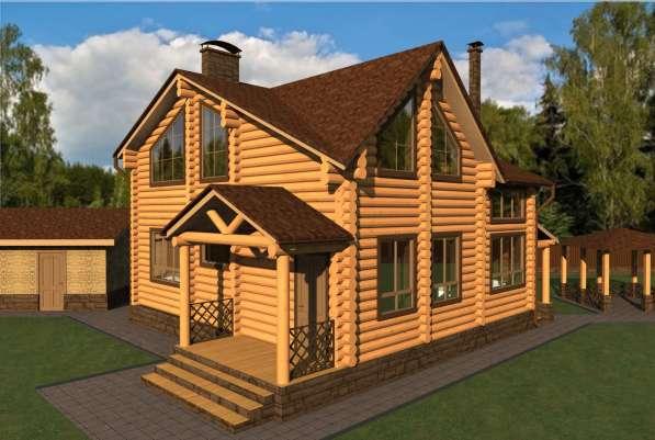 Деревянный дом Лель от компании МОГУТА