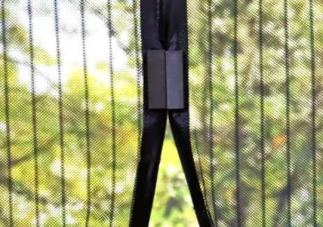 magic mesh сетка антимоскитная для двери на магнитах