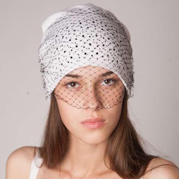 Женские головные уборы из трикотажа от производителя оптом