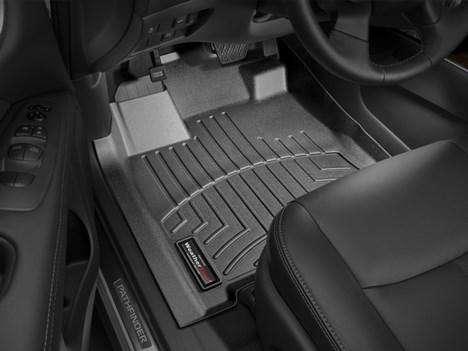 Коврики Weathertech для Nissan Pathfinder 2013 года