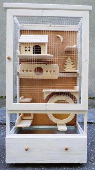 Витрина-клетка для содержания шиншилл, дегу, кроликов...