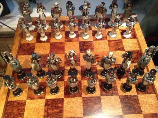Шахматы Бородино 1812 год