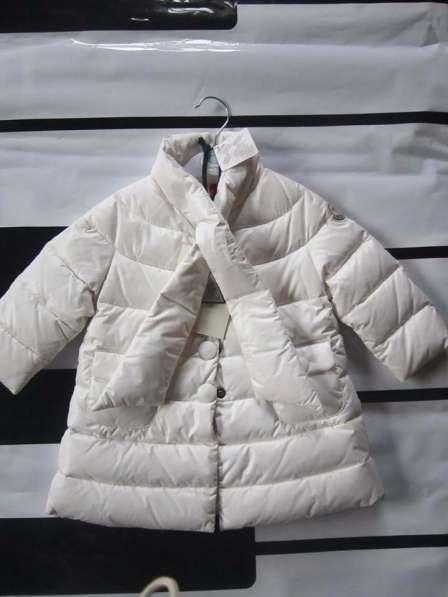 Пальто Moncler 9-12 мес, одето один раз.