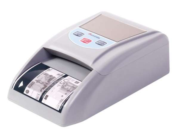 Детектор банкнот Cassida 3200 Rur полуавтоматический