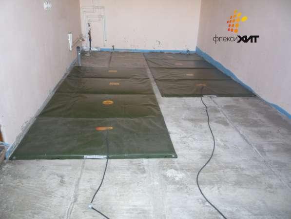 Инфракрасные нагреватели ФлексиХИТ- ускоренное бетонирование