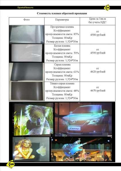 Предлагаем Плёнку Обратной Проекции во Владивостоке в Владивостоке фото 3