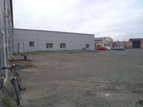 Продам базу в г.Коркино: нежилое здание-стоянка грузового ав