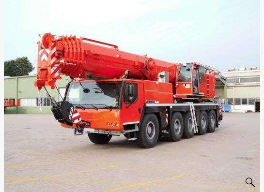 Аренда автокрана 130 тонн 60(83) метров Liebherr LTM 1130