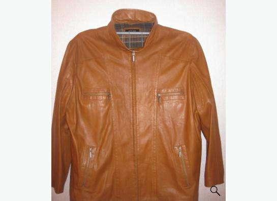 Кожаная куртка новая, р-р 60-62 в Томске