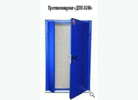 Ворота, двери противопожарные в Ижевске фото 5