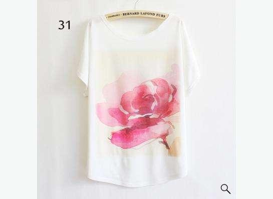 футболка белая с рисунком