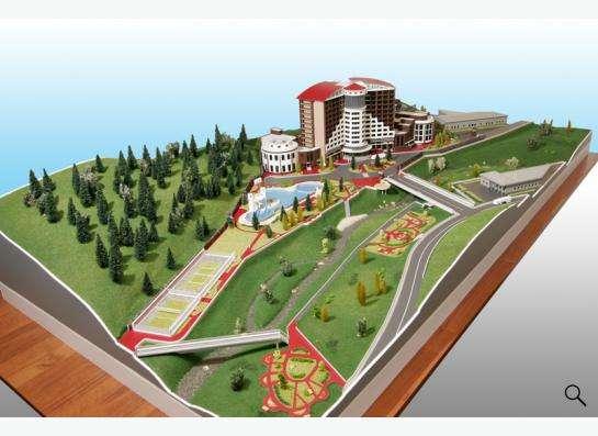 Изготовление архитектурных макетов в Новосибирске