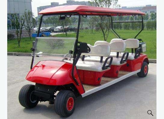 Электрические автомобили для гольфа и осмотра достопримечат в Москве фото 8
