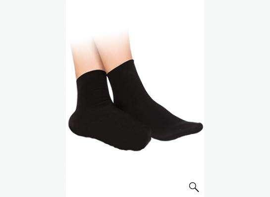 Носки с точечным нанесением турмалина