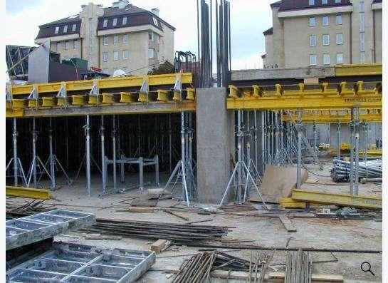 Строительство монолитных колонн